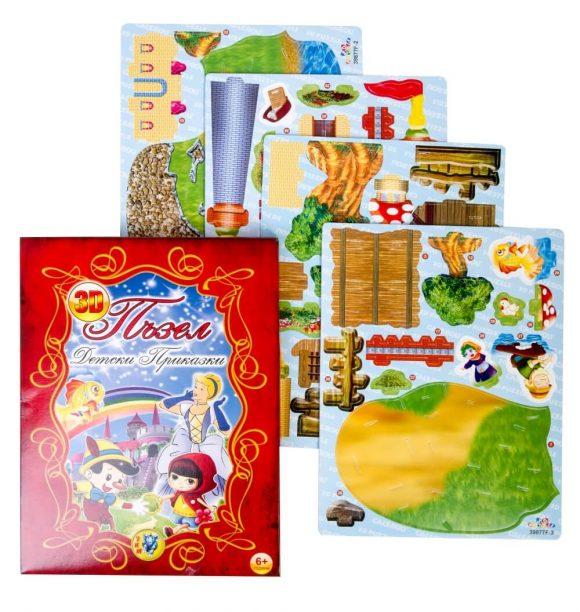 3D fairy tale puzzle
