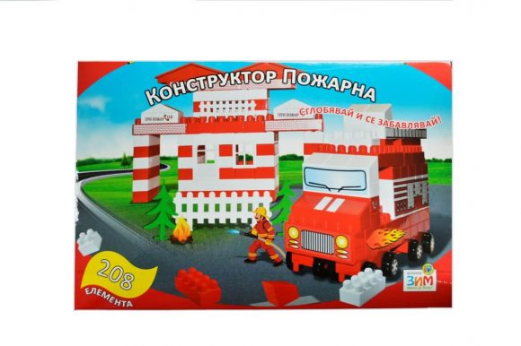 Fire station blocks 208 pcs (011118)