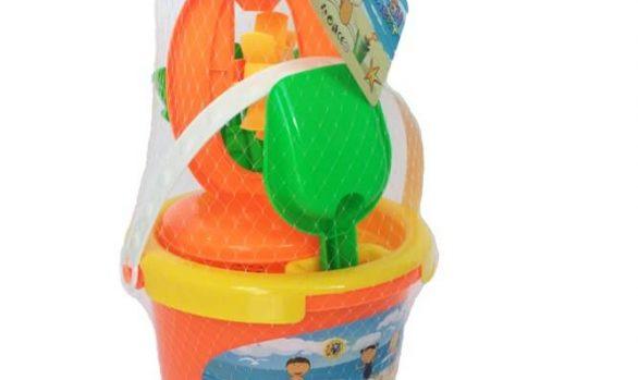 Плажен Комплект 5 части - оранжев (011126)